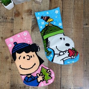 Peanuts set of stockings kurt adler 2013